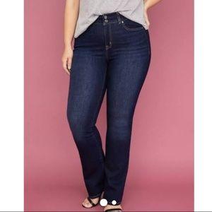 Lane Bryant Straight Leg Tighter Tummy Jeans